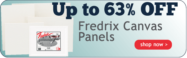 Up to 63% OFF Fredrix Canvas Panels