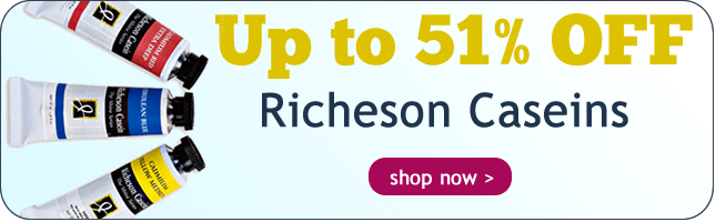Up to 47% Off Richeson Caseins and Sets