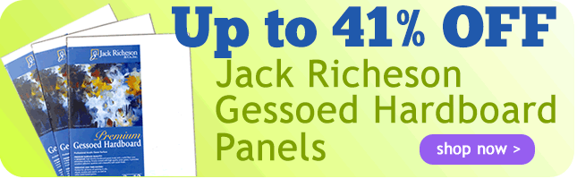 Up to 48% Off Richeson Gessoed Hardboard Panels